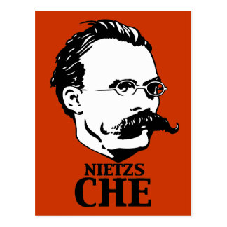 Nietzs-Che Postkarte