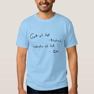 Nietzsche ist-Knirps (Licht) T-Shirts