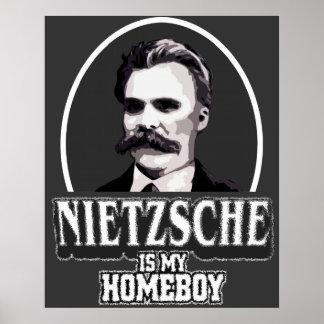 Nietzsche ist mein Homeboy-Plakat