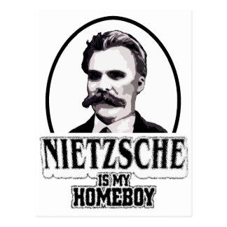 Nietzsche ist mein Homeboy Postkarte