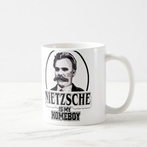 Nietzsche ist mein Homeboy Kaffee Haferl