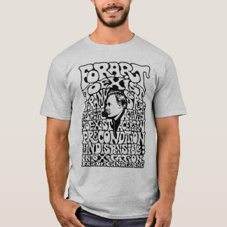 Nietzsche - Kunst T-Shirt