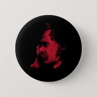 Nietzsche Philosophie-Abzeichen Runder Button 5,7 Cm