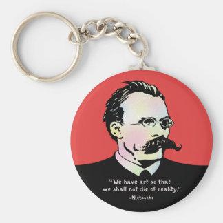Nietzsche - Wirklichkeit der Kunst-V. Schlüsselanhänger