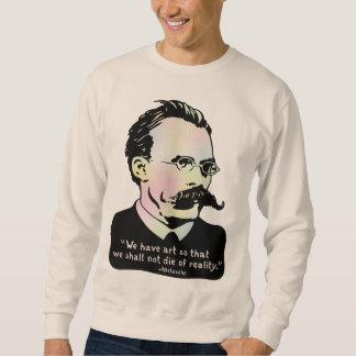 Nietzsche - Wirklichkeit der Kunst-V. Sweatshirt