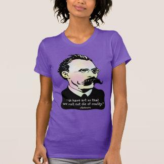 Nietzsche - Wirklichkeit der Kunst-V. T-Shirt