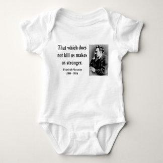 Nietzsche Zitat 5b Baby Strampler
