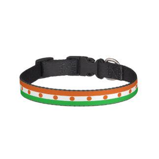 Niger-Flagge Haustierhalsband