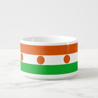 Niger-Flagge Kleine Suppentasse