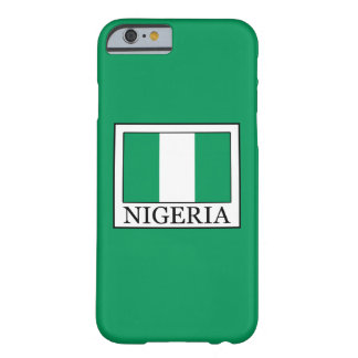 Nigeria Barely There iPhone 6 Hülle
