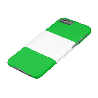 Nigeria-Flagge Barely There iPhone 6 Hülle