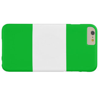 Nigeria-Flagge Barely There iPhone 6 Plus Hülle
