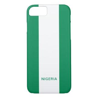Nigeria-Flagge iPhone Fall iPhone 8/7 Hülle