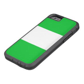 Nigeria-Flagge Tough Xtreme iPhone 6 Hülle