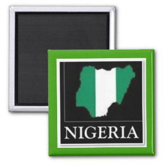 Nigeria Quadratischer Magnet