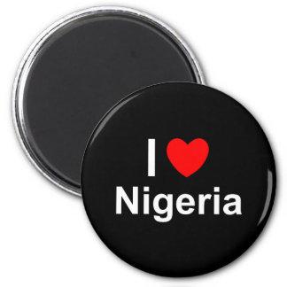 Nigeria Runder Magnet 5,1 Cm