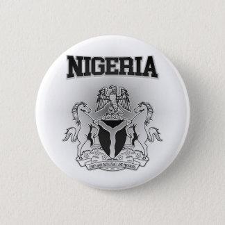 Nigeria-Wappen Runder Button 5,1 Cm