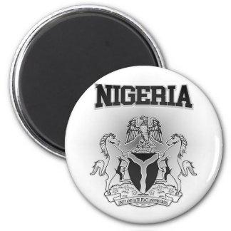 Nigeria-Wappen Runder Magnet 5,7 Cm