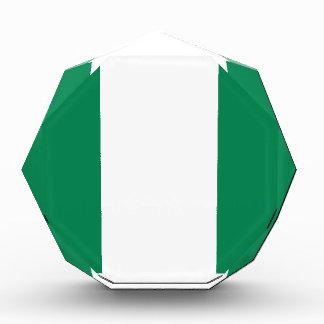 Nigerische Flagge Auszeichnung