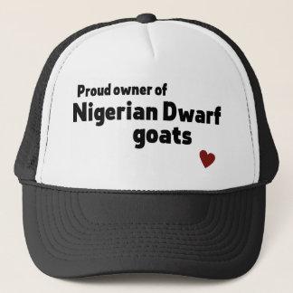 Nigerische zwergartige Ziegen Truckerkappe