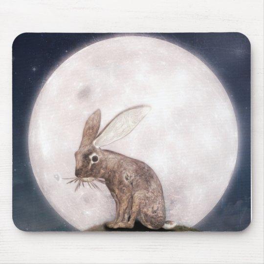Night Rabbit Mousepad