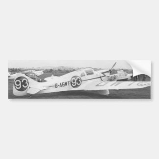 Nighthawk-Flugzeug 1953 Autoaufkleber