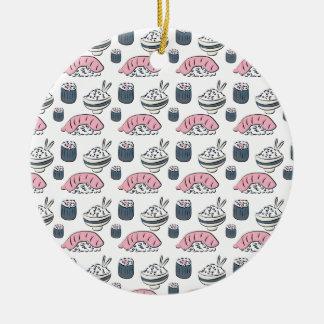 Nigiri Sushi Keramik Ornament