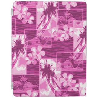 Niihau Inselhawaiischer Plumeria und Palme iPad Smart Cover