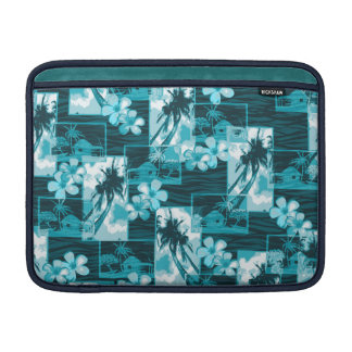 Niihau Inselhawaiischer Plumeria und Palme MacBook Air Sleeve