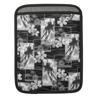 Niihau Inselhawaiischer Plumeria und Palme Sleeve Für iPads
