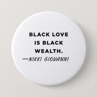 Nikki Giovanni Knopf Runder Button 7,6 Cm