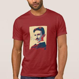 Nikola Tesla Crew-Hals-Shirt T-Shirt