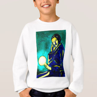 Nikola Tesla - denke ökologisch Sweatshirt