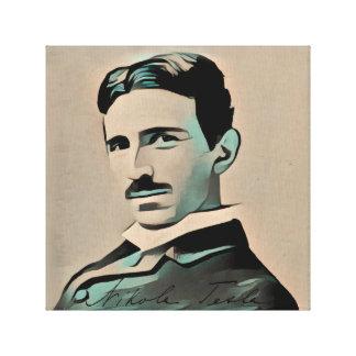 Nikola Tesla Leinwanddruck