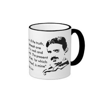 Nikola Tesla u. Zitat Tee Haferl