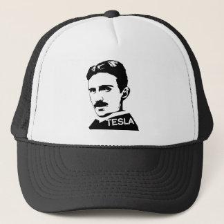 Nikola Tesla Vintager T - Shirt Truckerkappe