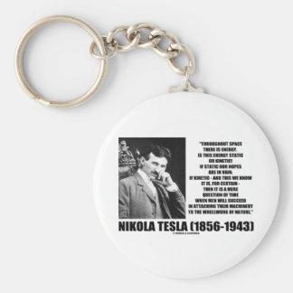 Nikola Tesla Wheelwork der Natur-kinetischen Schlüsselanhänger