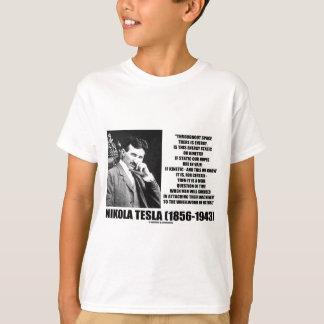 Nikola Tesla Wheelwork der Natur-kinetischen T-Shirt
