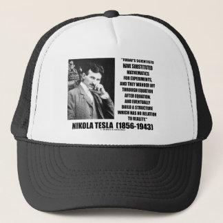 Nikola Tesla-Wissenschaftler-Gleichung kein Truckerkappe