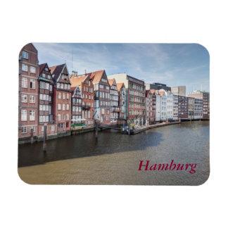 Nikolaifleet, Hamburg, Deutschland Magnet