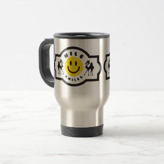 Nil-Lächeln-Reise-Tasse Reisebecher