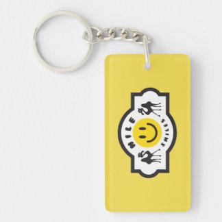 Nil lächelt Keychain Schlüsselanhänger