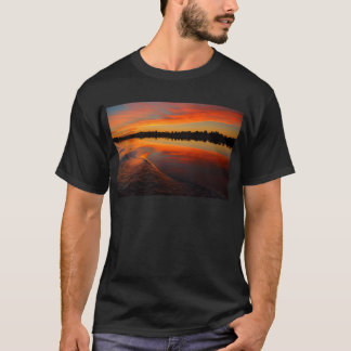 Nil-Sonnenuntergang T-Shirt