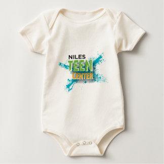 Niles jugendlich Mitte Baby Strampler