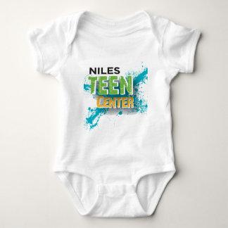 Niles jugendlich Mittellogo Baby Strampler