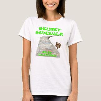 Niles Schlucht-geheimer Bürgersteig-T - Shirt