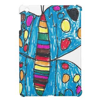 Nina-Regenbogen-Schmetterling mit Stellen Hüllen Für iPad Mini