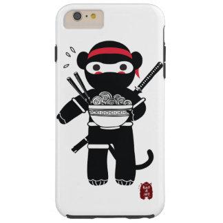 Ninja Affe-Telefonfall Tough iPhone 6 Plus Hülle