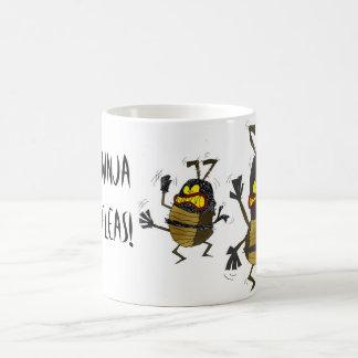 Ninja Flöhe Kaffeetasse