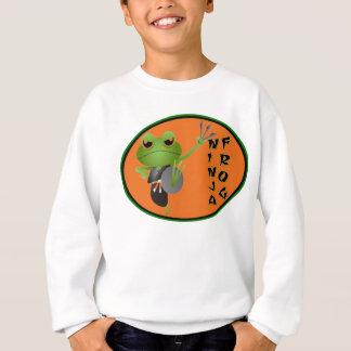 Ninja Frosch Sweatshirt